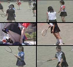 アクションガールズ 元気な女子中学生のテニス大会 2