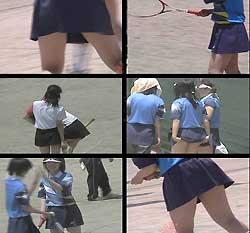 アクションガールズ 元気な女子中学生のテニス大会 3
