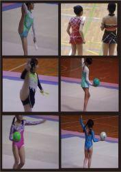 新体操エンジェルの発表会1