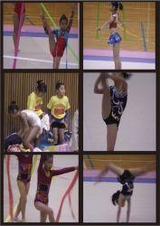 新体操エンジェルの発表会2
