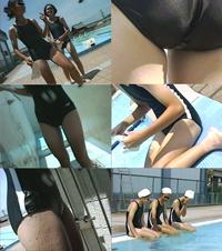 お宝シリーズ 女子学生 水泳特別レッスン